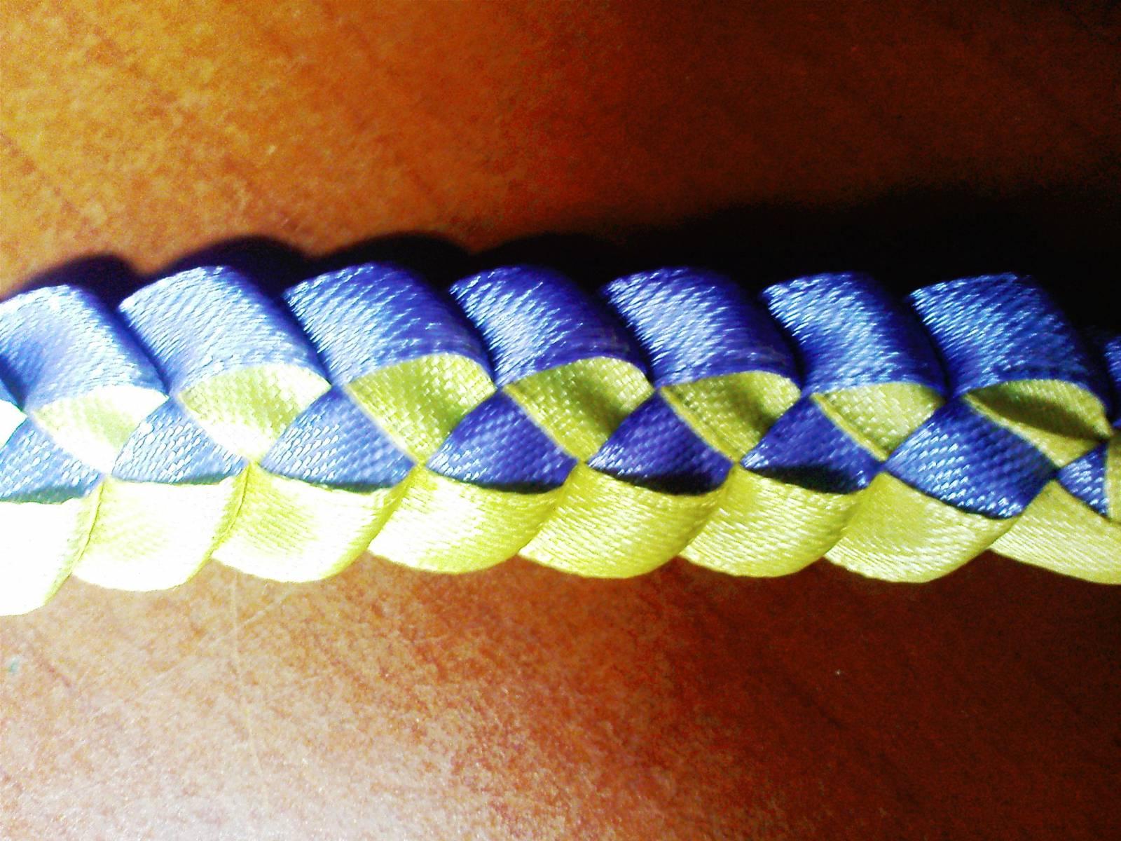 Плетение закладок из ленточек пошаговое фото